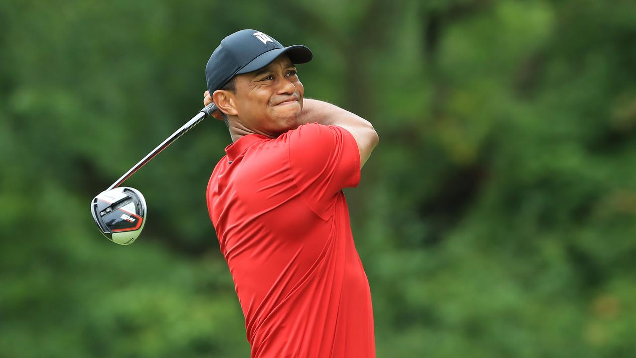 Tiger Woods must decide whether to play himself in the Presidents Cup. Picture: Sam Greenwood