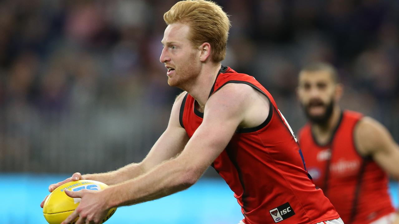 Aaron Francis has been in good form for Essendon. Picture: Getty