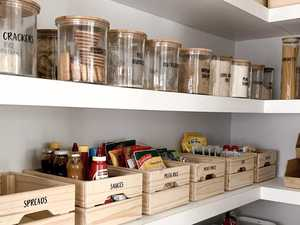 Mum's jaw-dropping $700 pantry makeover