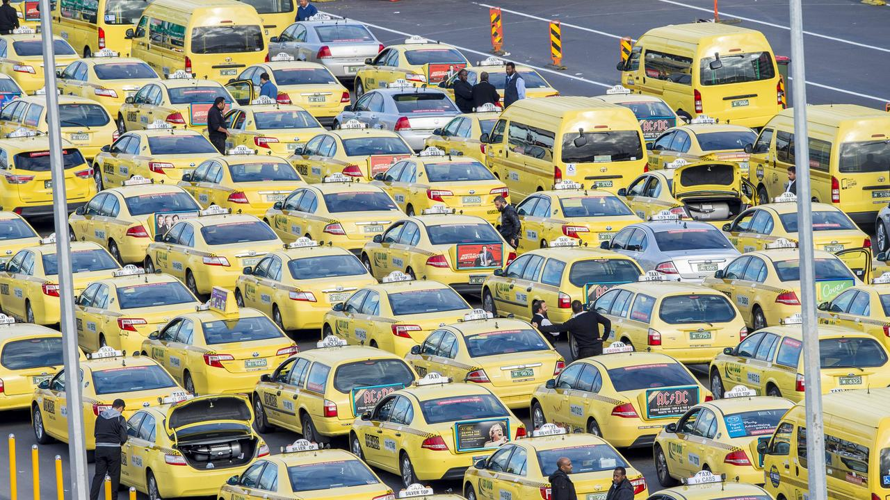 The taxi business model is under threat from ride-sharing services.