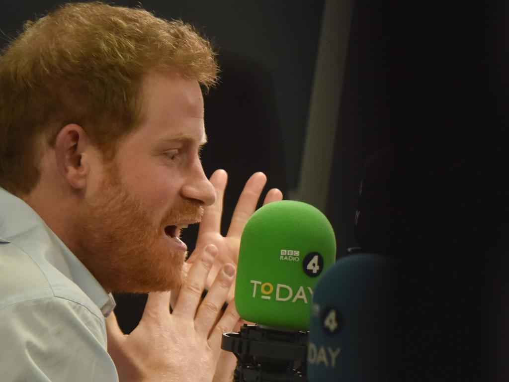 Prince Harry guest edited BBC Radio 4's Today program in 2017 and said people can make a