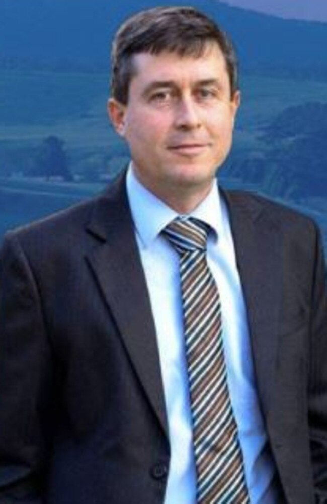 Victorian politician Tim Quilty. Picture: Supplied