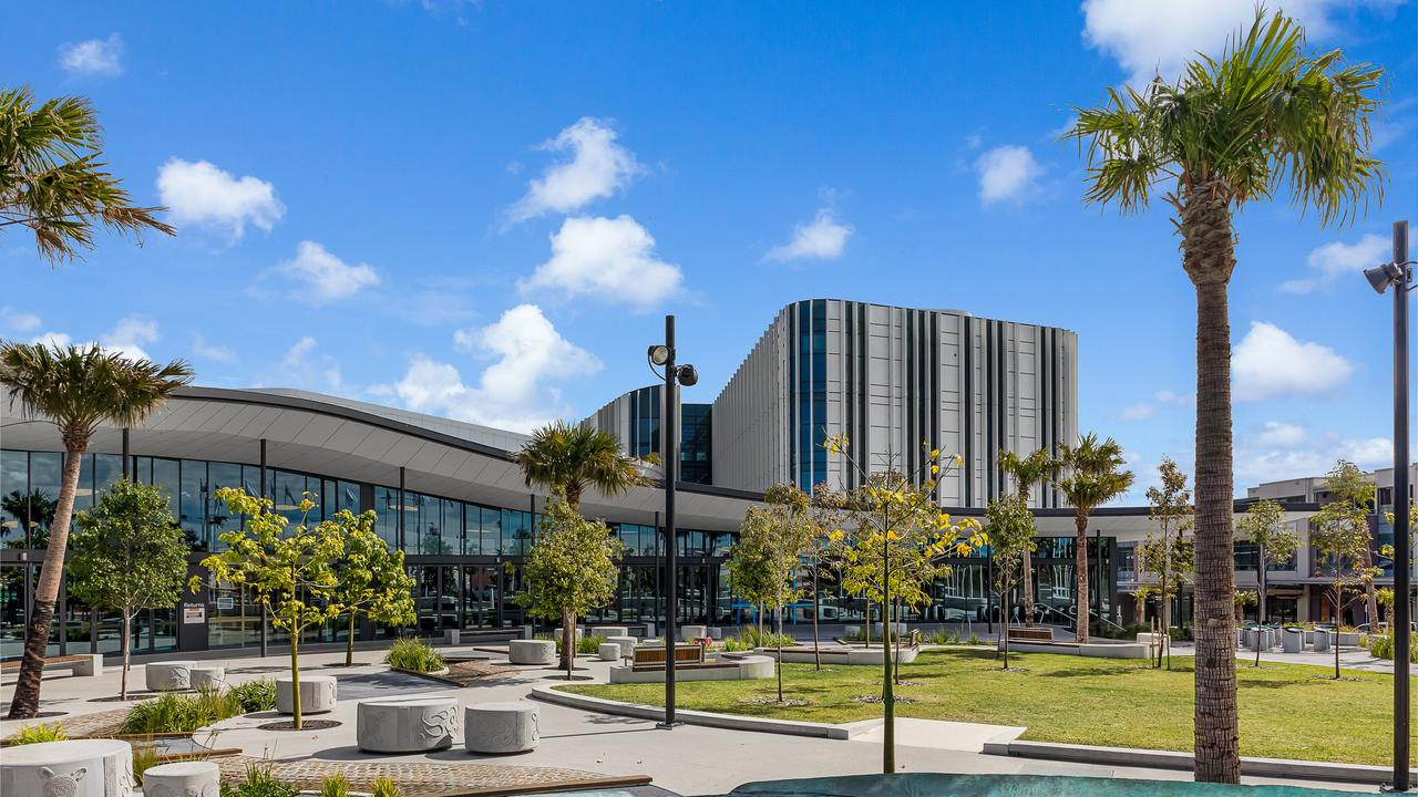 TURN AROUND: Controversial to award winning: the Shellharbour Civic Centre.
