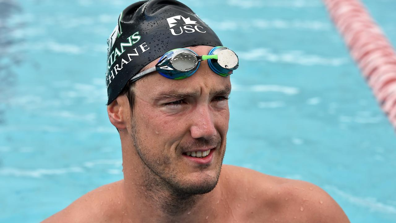 SPEEDY: Blake Cochrane broke two world records during the Queensland Short Course Swimming Championships over the weekend.