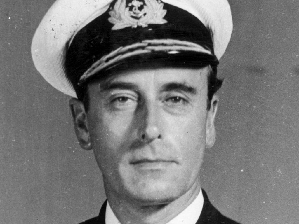 Mountbatten in 1946. Picture: Supplied