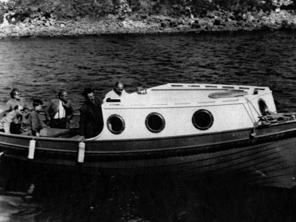 Mountbatten's converted fishing boat Shadow V. He was killed with three others when the boat was destroyed in IRA bombing off the coast of Ireland in 1979. Picture: Supplied