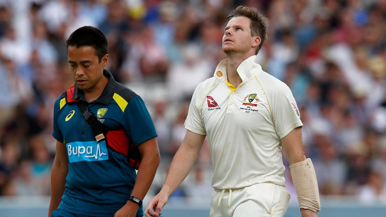 Steve Smith is unlikely for the third Test. Picture: Ian Kington