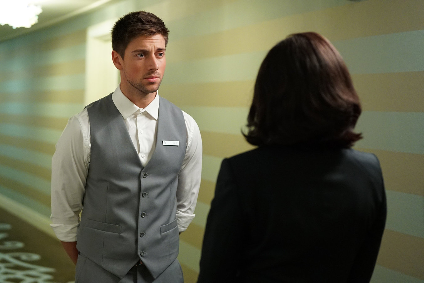 Lincoln Younes as Danny in a scene from Grand Hotel.