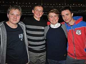 Adam Raccanello, Cooper Wren, Lucas Wren and Ethan