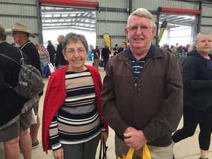 Dorris and Vince McSherry at the Mackay Seniors Expo.