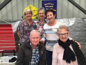 Mackay Golden Years members Liz Wales, Zoe and