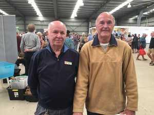 David Gaven and Phil Newton of the Mackay Senior