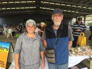 Lora Brand and Rodney Sorensen at the Mackay Seniors