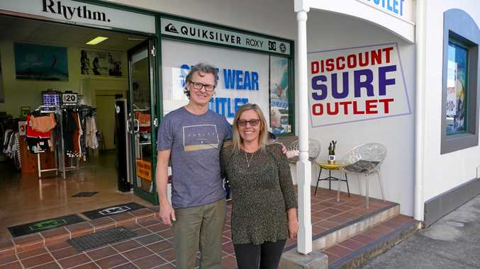 Surf shop now has its own discount outlet Out the Back