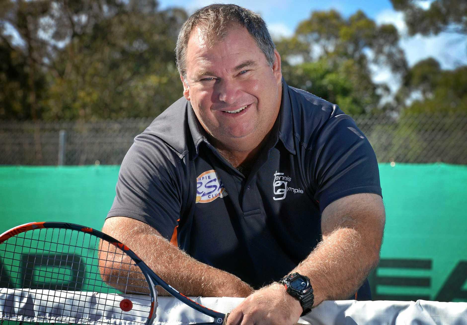 Brett Cottrill Gympie Tennis club coach.