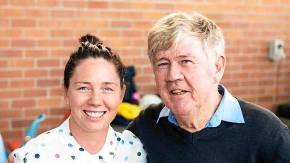 DEARLY MISSED: Dr Jim Tankey, with daughter Emily, passed away at the age of 69 on August 12. The general practitioner first started private practice in Ipswich in 1977 and he worked as a GP for 40 years.