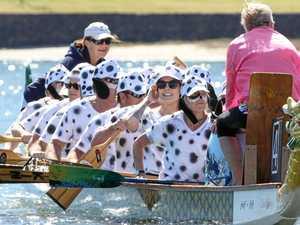 Roaring fun at the regatta