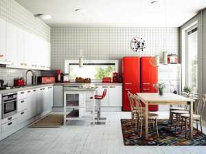 Get kitchen appliances to work in function and style