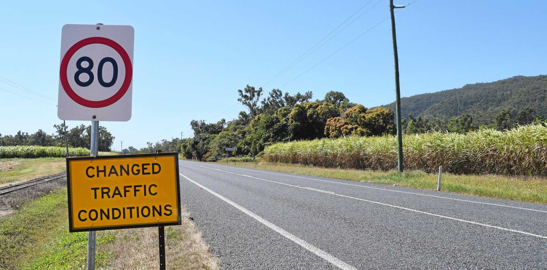 The speed limit on Shute Harbour Rd between Stanley Dr and Gregory-Cannon Valley Rd has been reduced to 80km/h.