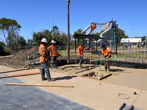 Security beefed up as skate park completion nears