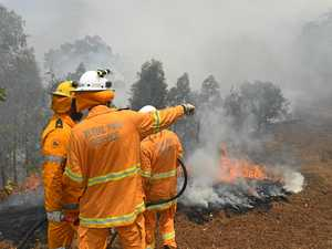 Two emergency level bushfires, a dozen others out of control