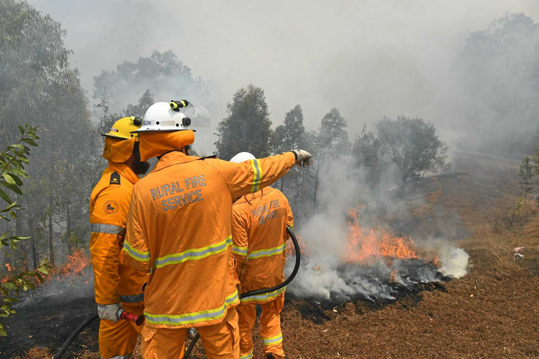 There is severe fire danger on the Northern Rivers.