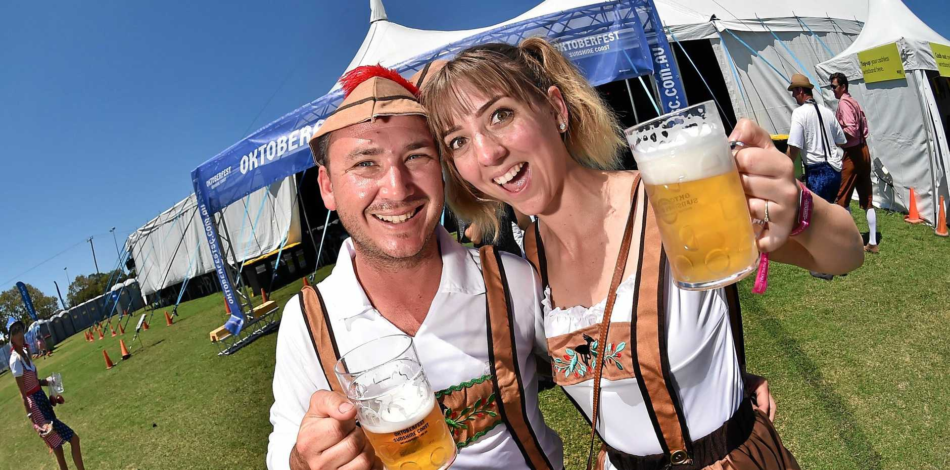 Events like Oktoberfest are crowd-pullers.