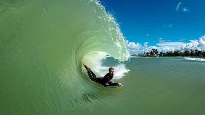 Surf Lakes stoked as biggest-ever wave pool wave goes off