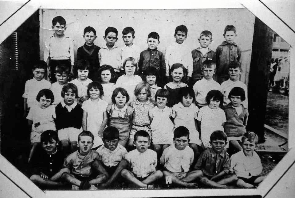 LONG HISTORY: Depot Hill State School class photo in 1932.