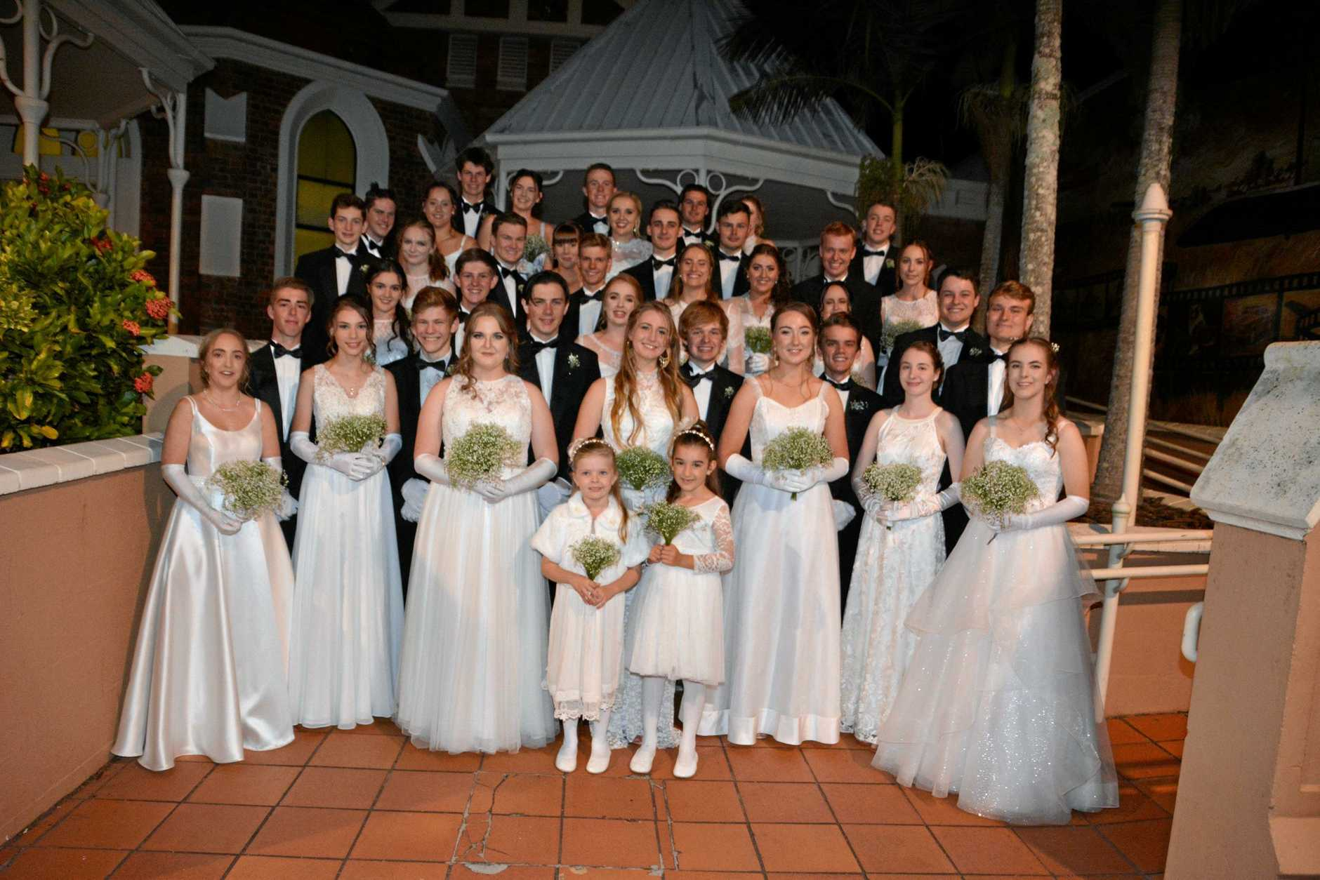 The 90th St Mary's Debutante Ball was held at St Paul's Anglican Church on Friday.