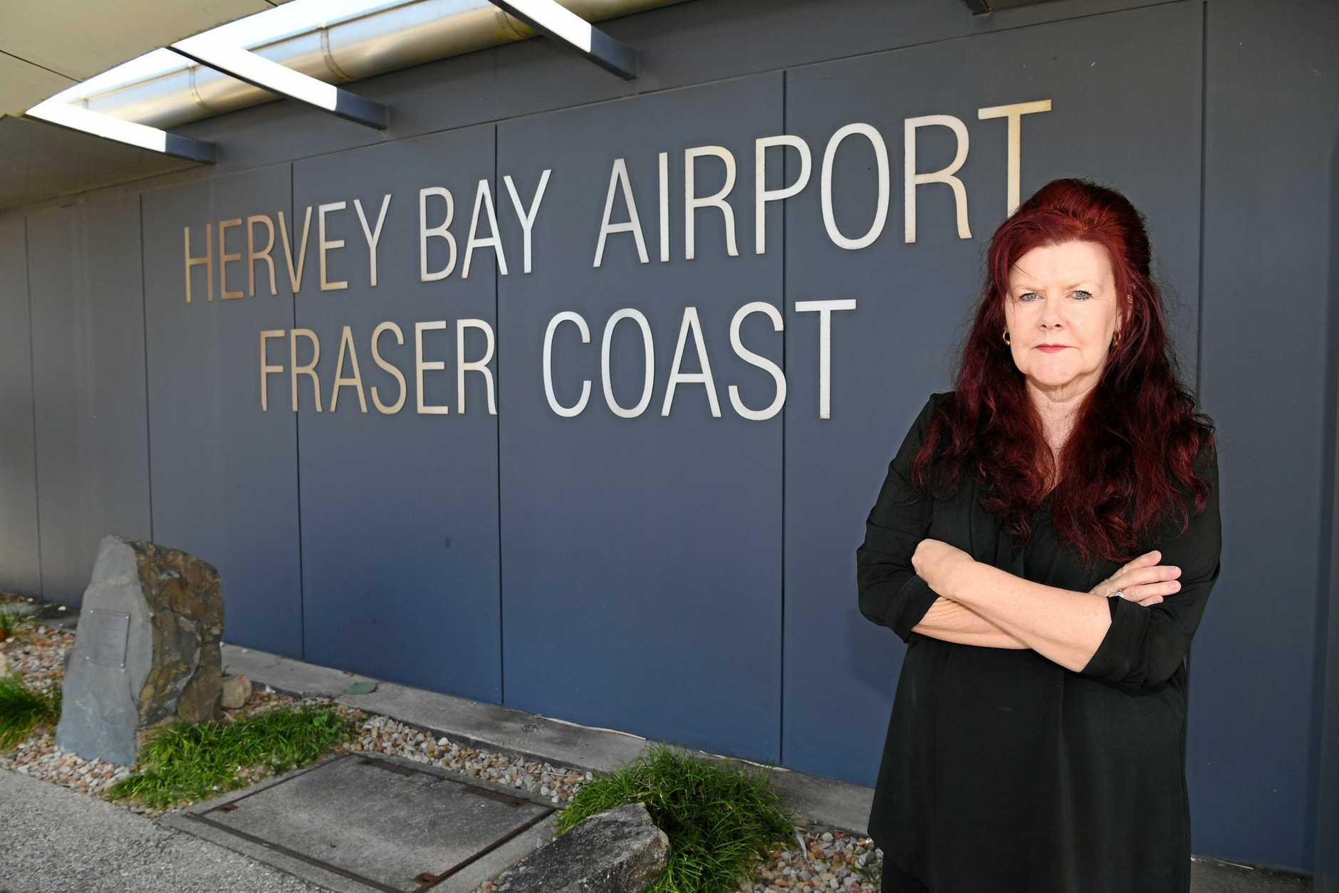 FLIGHT PRICE PROBLEMS: Hervey Bay Chamber of Commerce president Sandra Holebrook says high pricing at the Hervey Bay Airport can affect the viability of businesses. It comes after Qantas invested $10 million into regional and rural airports to improve flight service costs across Queensland, but not in Hervey Bay.