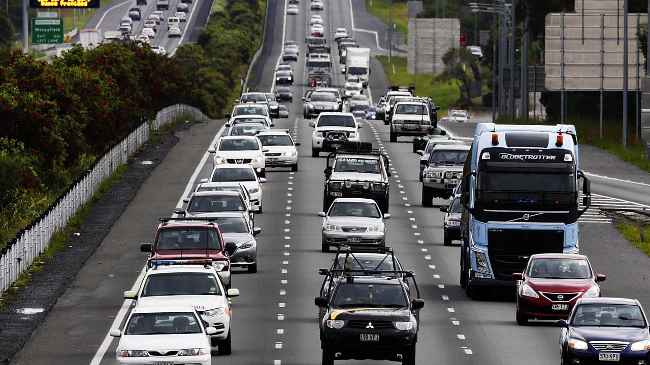 Southbound Traffic on the Bruce Highway. Photo Lachie Millard