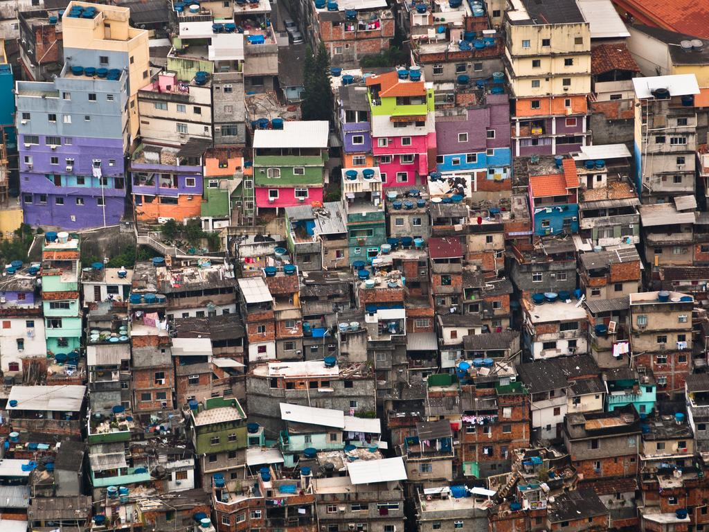 Mr Cary wanted to visit a favela while in Rio de Janeiro.