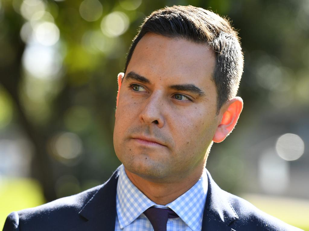 "Independent MP Alex Greenwich has copped criticism for being a ""nobody"". Mr Greenwich originally moved the bill in the lower house. Picture: AAP"