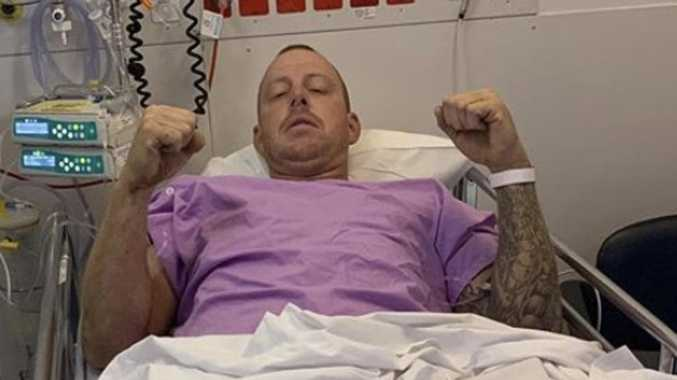 Gold Coast truckie 'may never walk again' after crash