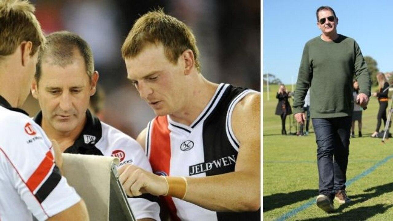 Ex-Saint Brendon Goddard says sacked Fremantle coach Ross Lyon should return to St Kilda.