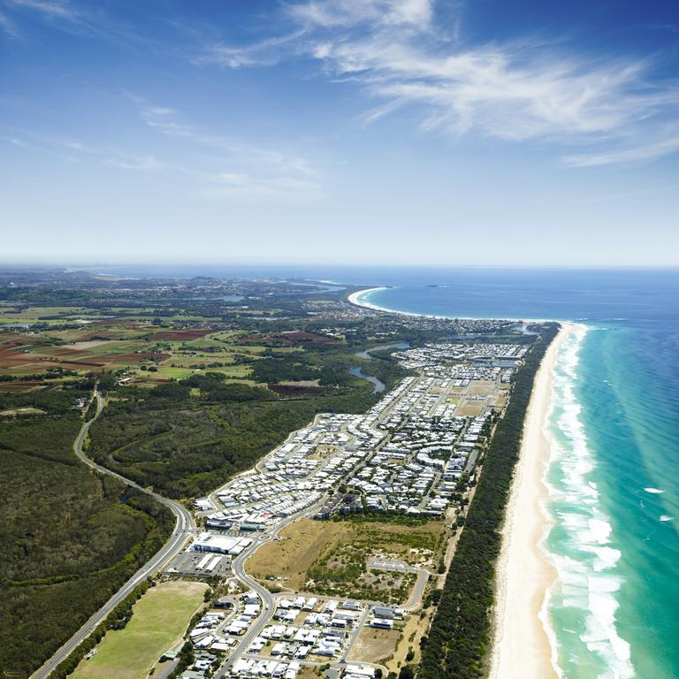 Casuarina Beach on the far northern NSW coast