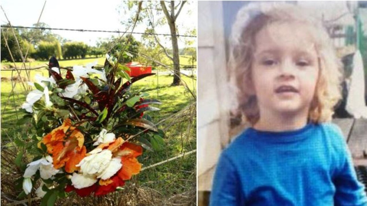 Wide artwork for story about little girl found in dam