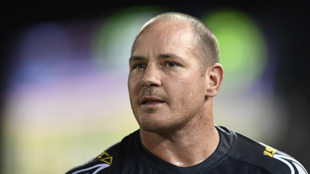 Matt Scott has been hospitalised after suffering a stroke. Picture: Ian Hitchcock