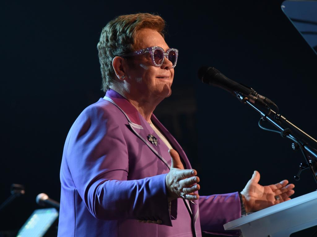 Sir Elton John. Picture: Getty