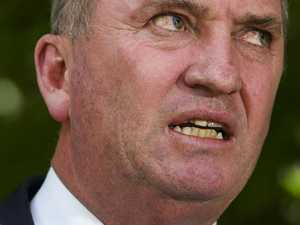'Don't do it again': Barnaby lashed