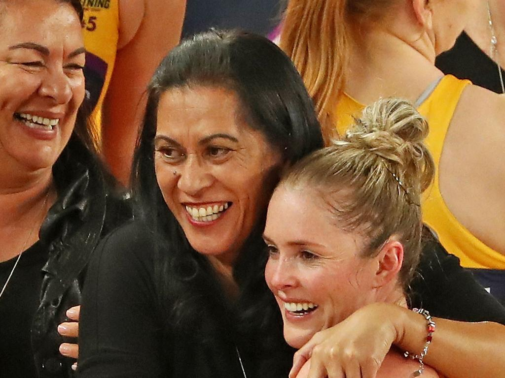 Noeline Taurua is much loved on the Sunshine coach. Picture: Scott Barbour/Getty Images