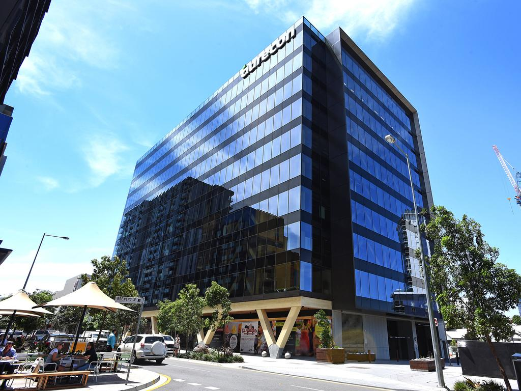The Aurecon offices building in Bowen Hills. Picture: AAP image, John Gass
