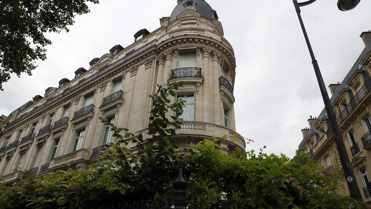 An apartment building owned by Epstein in the 16th district in Paris. Picture: Francois Mori/AP Photo