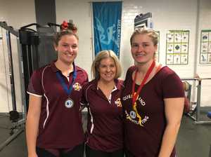Young weightlifters matching it with best in Australia