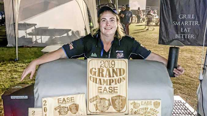 Cassie a cut above the rest at barbecue competition