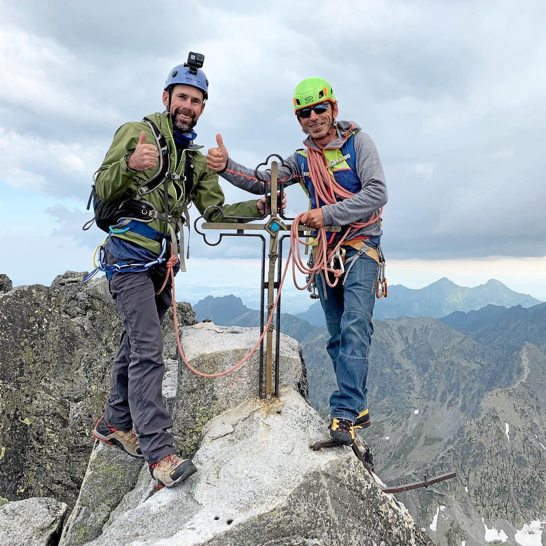 Ipswich climber Ricky Ellis climbed Gerlachovsky.