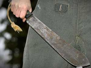 Gympie machete man can't stop saying 'f*****' in court