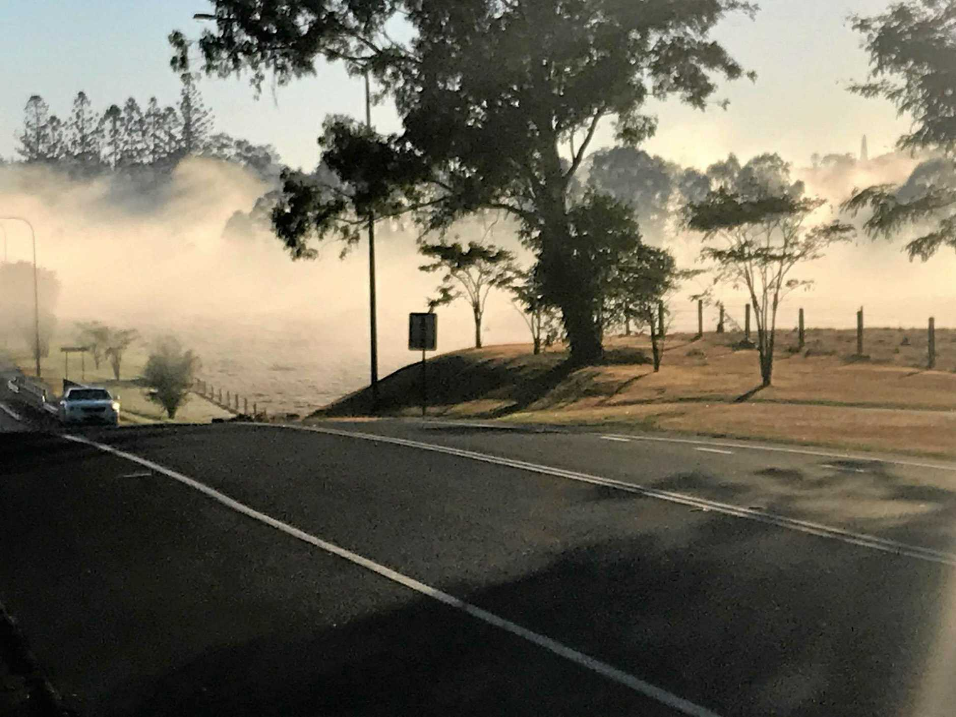 FROSTY: Frosts were widespread around Gympie as still cold air settled onto even colder ground across the region.