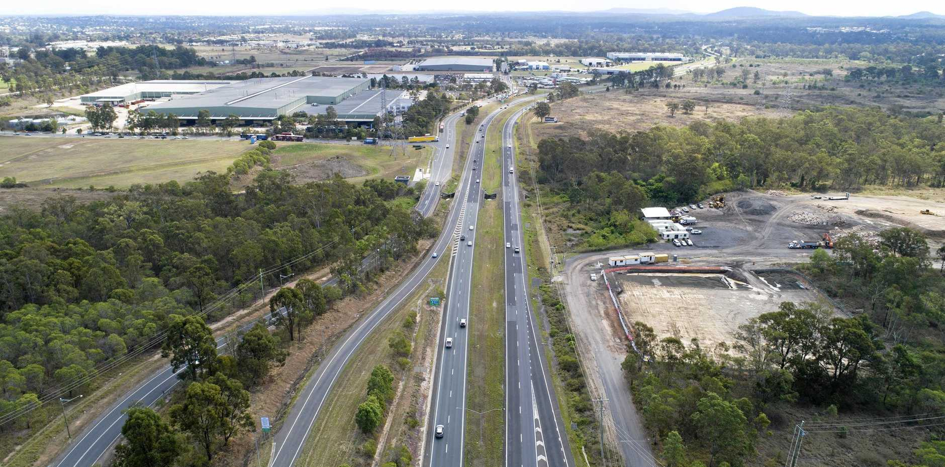 The Warrego Highway has been reopened after a horror crash last night which left a motorcyclist dead.